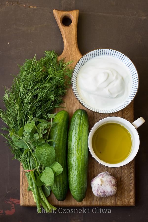klasyczny sos tzatziki przepis