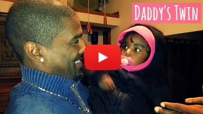 Watch this Baby girl get confused after meeting her Dad's Identical twin brother for the very first time via geniushowto.blogspot.com Funny Baby videos