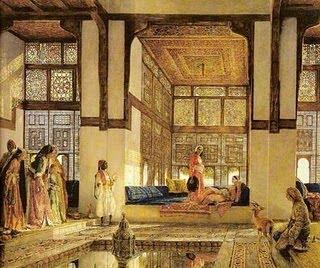 مناظرة شعرية في قصر الخليفة