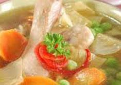 Resep masakan indonesia sup kembang tahu spesial (istimewa) praktis mudah sedap, gurih, enak, nikmat lezat