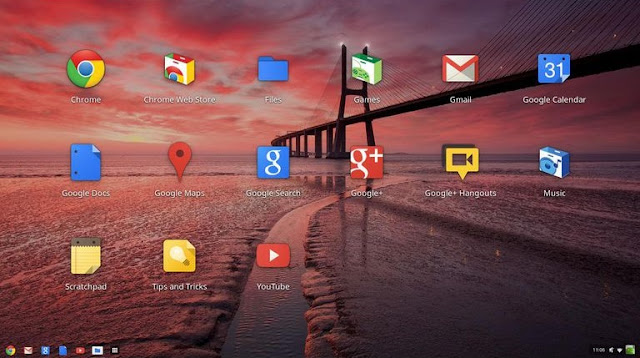 Sistem Operasi Google Chrome OS