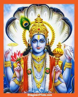 Vishnu Bhagwan Image Photos