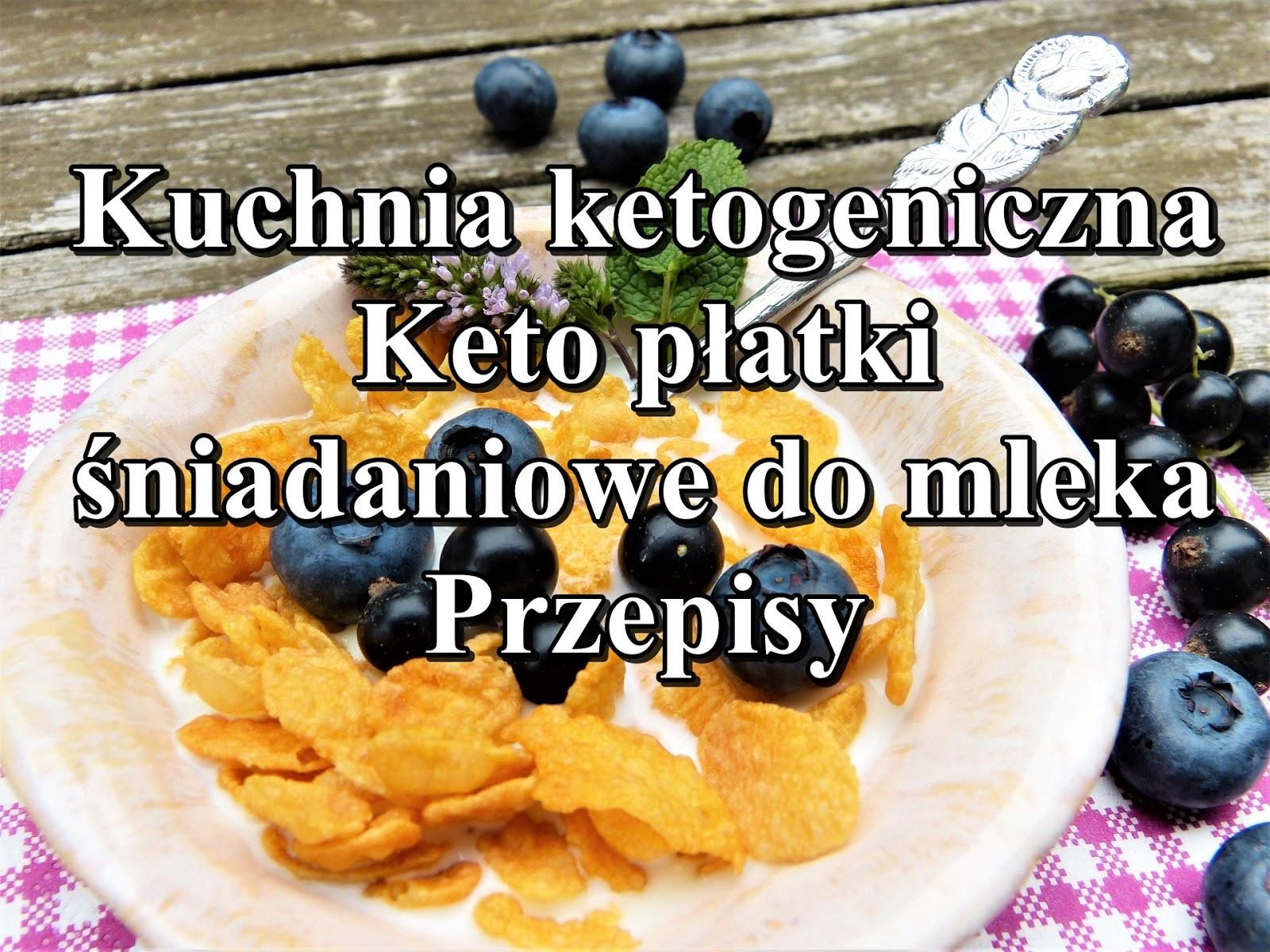 Pani Domu Bloguje Kuchnia Ketogeniczna Keto Platki Sniadaniowe