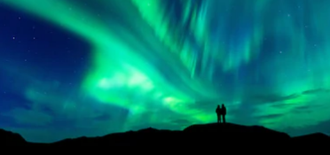 Kenampakan aurora borealis
