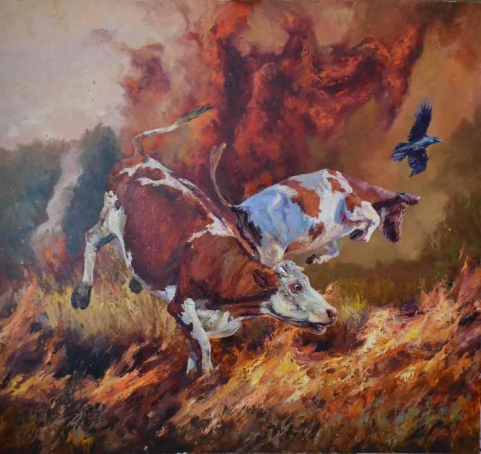Российский художник. Ирик Мусин