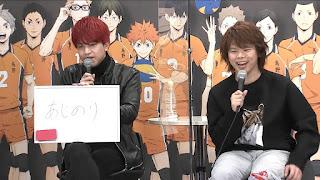 "Hellominju.com : ハイキュー!! TO THE TOP ジャンプフェスタ2021   村瀬歩   石川界人   Haikyū!! Jump Festa""   Hello Anime !"