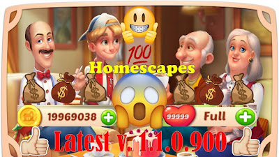Homescapes v1.1.0.900 Mod Apk for Android