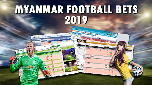 Myanmar Football Bets 2019