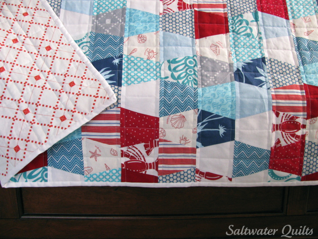 Tumblers Beach Bound Quilt | © Saltwater Quilts 2012