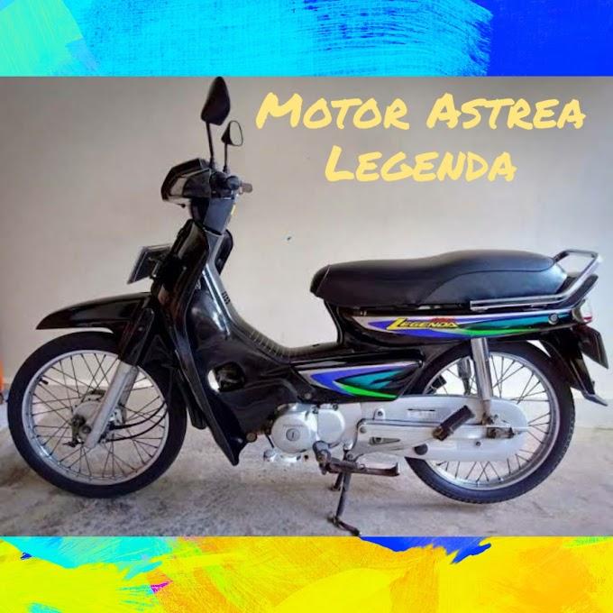 Honda Astrea Legenda, motor yang memang jadi legenda
