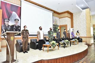 Pjs.Gubernur Jambi Harapkan Solusi Permanen Pencegahan Kebakaran Hutan dan Lahan