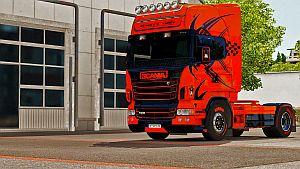 Skyrock paint job for Scania RJL