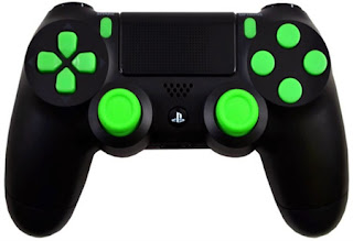playstation 4 modded controllers ps4 mod controllers ps4 green out playstation 4