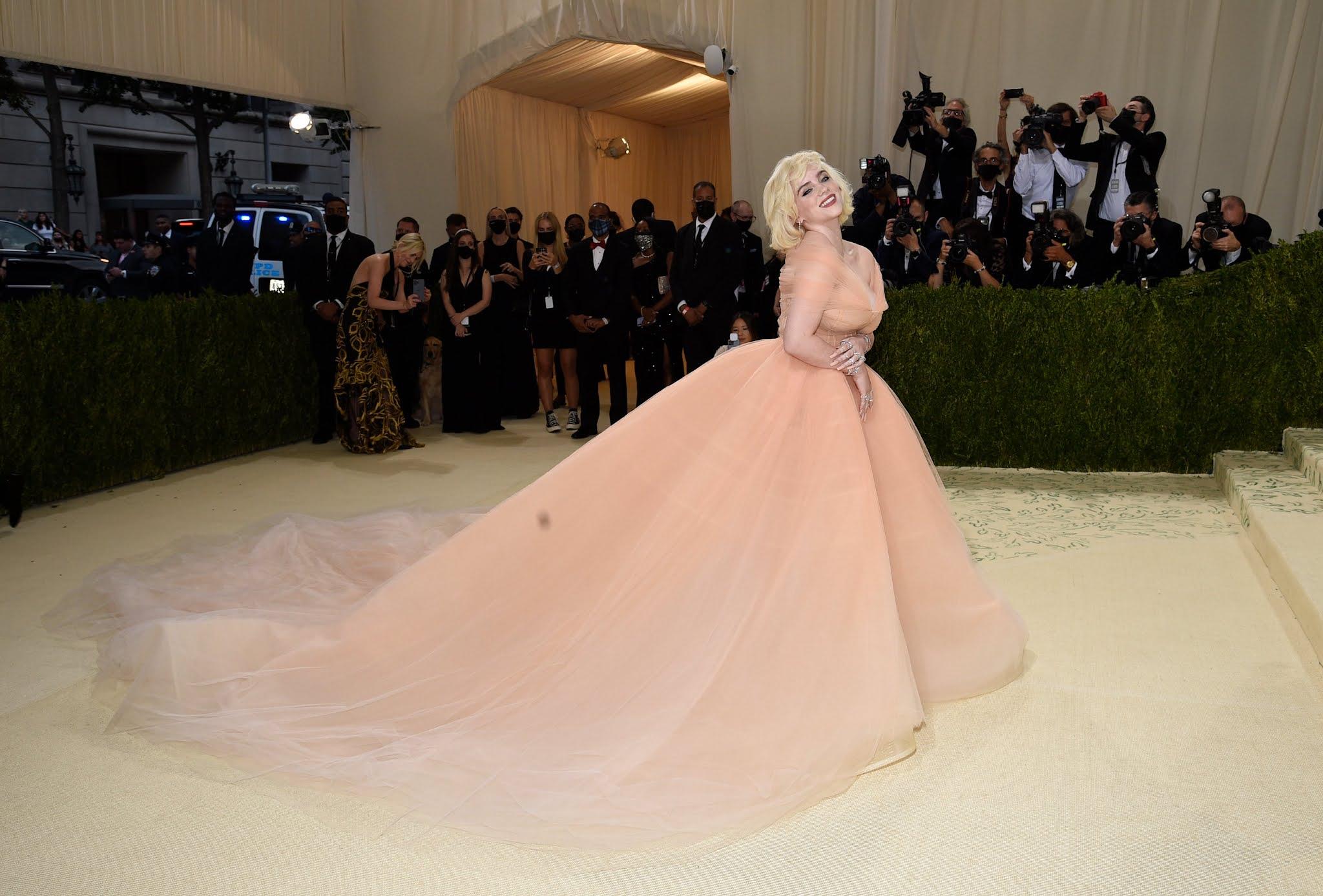 Billie Eilish brings Hollywood glamour to the 2021 Met Gala