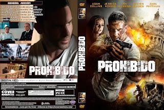 CARATULA PROHIBIDO - OUTLAWED 2018[COVER DVD]