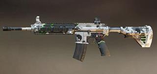 Pubg Mobile M416 skin: Reaper