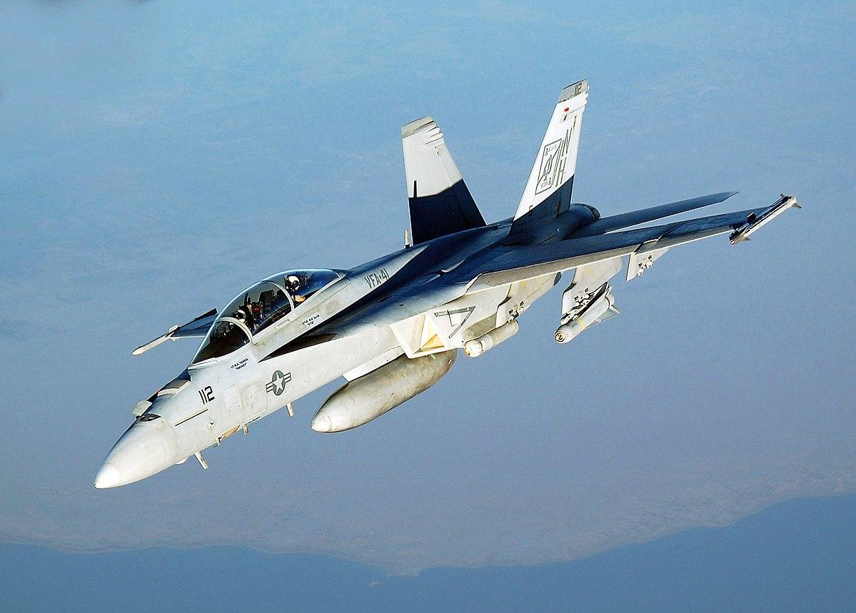 """الطائرة المقاتنلة إف\أيه-18إي\إف سوبر هورنت""""F / A-18 E / F Super Hornets""""  - ميزانية الجيش الأمريكي 2021"""