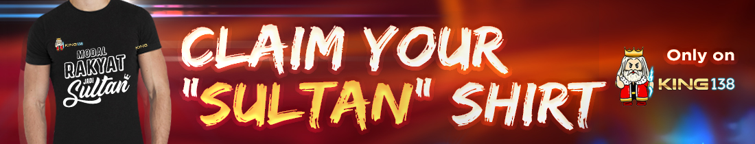 Claim your 'sultan' shirt
