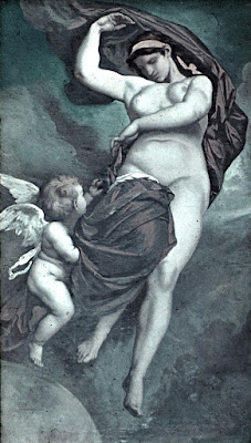 Gaia, Primordial Deity of the Earth, painting by Anselm Feuerbach (1875)