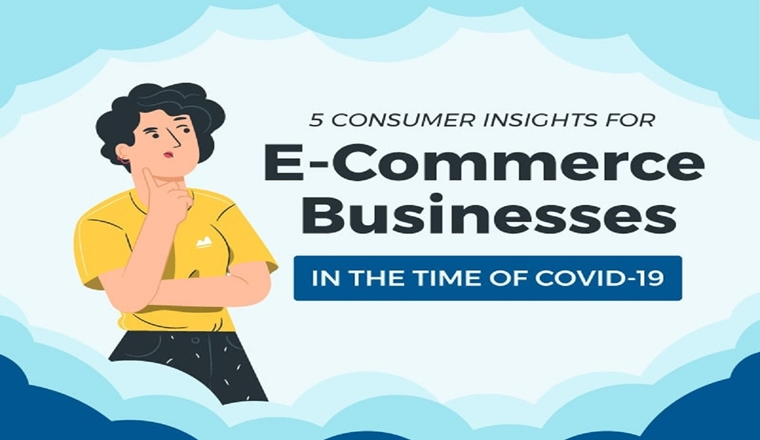 5 Consumer Insights for E-Commerce Businesses in the Time of COVID-19 #infographic