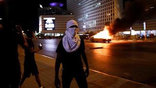 بالفيديو: استمرار الاحتجاجات العنيفة للإثيوبيين في إسرائيل