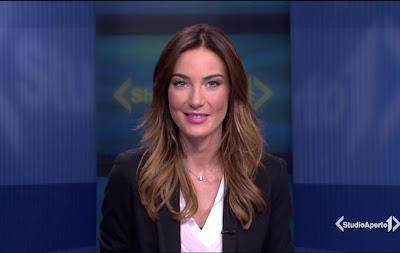 Giulia Ronchi studio aperto 29 dicembre foto bellissima conduttrice