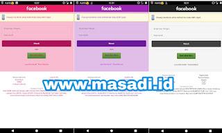 Aplikasi Facebook Berwarna