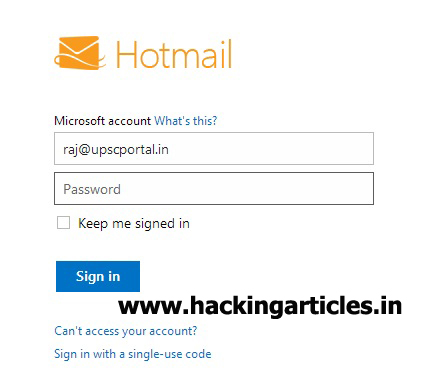 how to create a hotmail email account