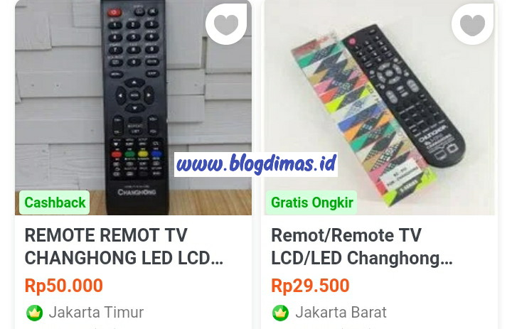 Kode Remot TV Changhong