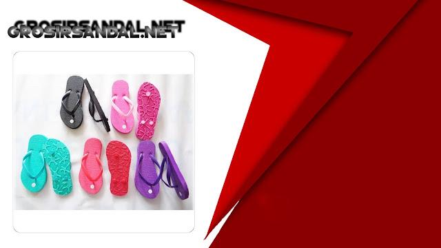 Sandal Jepit Pompom SHM Anak | PABRIK SANDAL MURAH