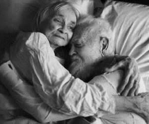 Romantic OLD Couple Images on National Senior Citizen's Day August 21