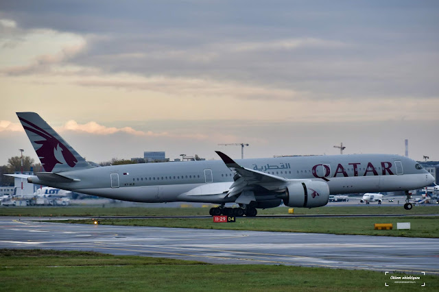 A7-ALD - Airbus A350-941 - Qatar Airways