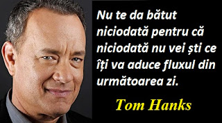 Citatul zilei: 9 iulie - Tom Hanks