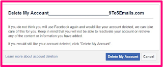 How to delete facebook account permanently immediately step 3 after logging in a brand new home window will appear you choose remove my account to remove the account ccuart Image collections