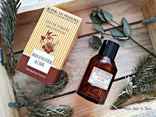 Eau the Toilette pour homme Jeanne de Provence provenza fragancias hombre beauty aromas perfume