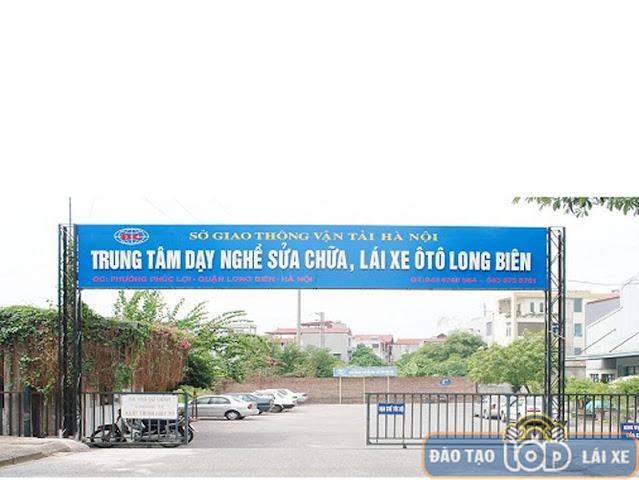 Trung tâm đào tạo lái xe B1, B2, C Long Biên - Hà Nội