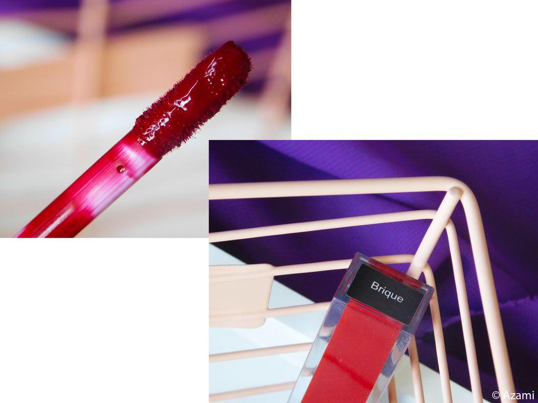 Creations By Khris CBK - Liquid Matte Lipstick in Brique Review & Swatches - Avis