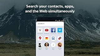 Yandex Launcher النسخة الكاملة