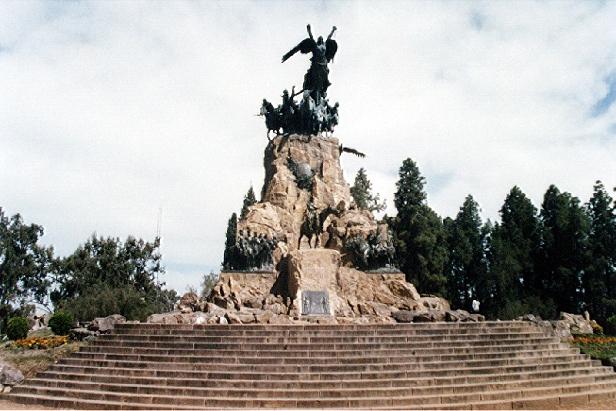 Monumento ao Ejército de los Andes em Mendoza, Argentina