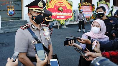 Kapolrestabes Surabaya: Mobil Vaksin Keliling Targetkan 3000 Ribu Dosis Vaksin Covid-19 Perhari