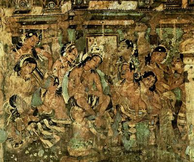 Ajanta painting - Janaka Jataka