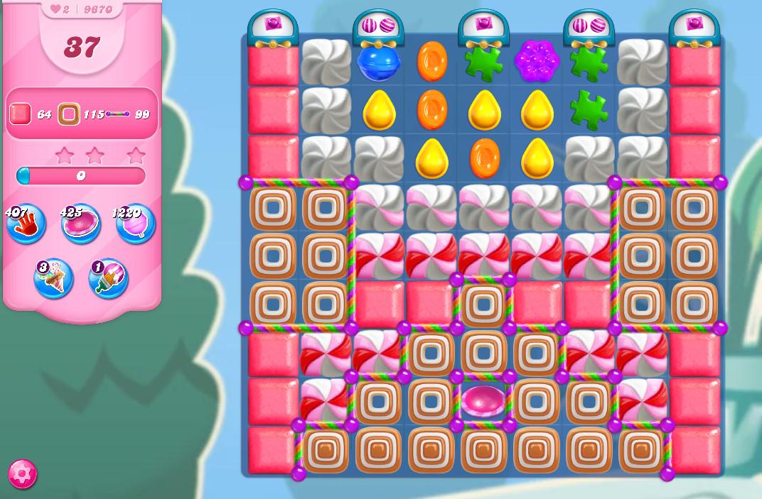 Candy Crush Saga level 9670