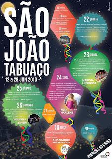 Programa São João de Tabuaço 2016