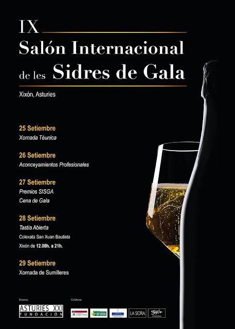 Cena de la Sidra de Gala 2019 - Premios SISGA