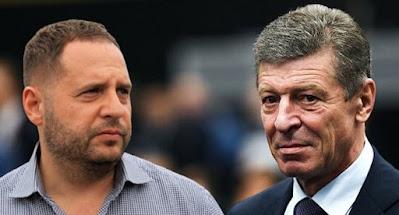 Козак та Єрмак не домовилися щодо врегулювання на Донбасі