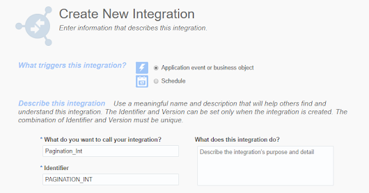 Implement Pagination in REST Service: Integration Cloud