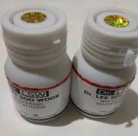 ASLI KOREA OBAT PEMUTIH KULIT BADAN / WAJAH TERCEPAT DR LSW WHITENING GLUTATHIONE