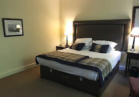 Bedroom at Linden Hall Northumberland Hotel