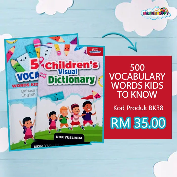 500 vocabulary words kids to know in malaysia context