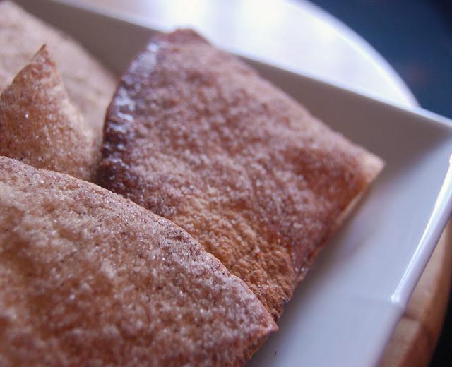 Baked Cinnamon Tortilla Chips